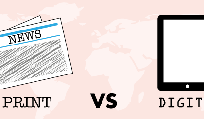 Le papier est-il mort ? Print VS Digital
